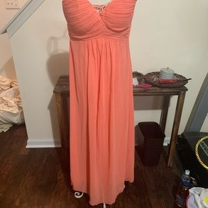 Chiffon Bridesmaids Dress - Sweetheart - Size 10